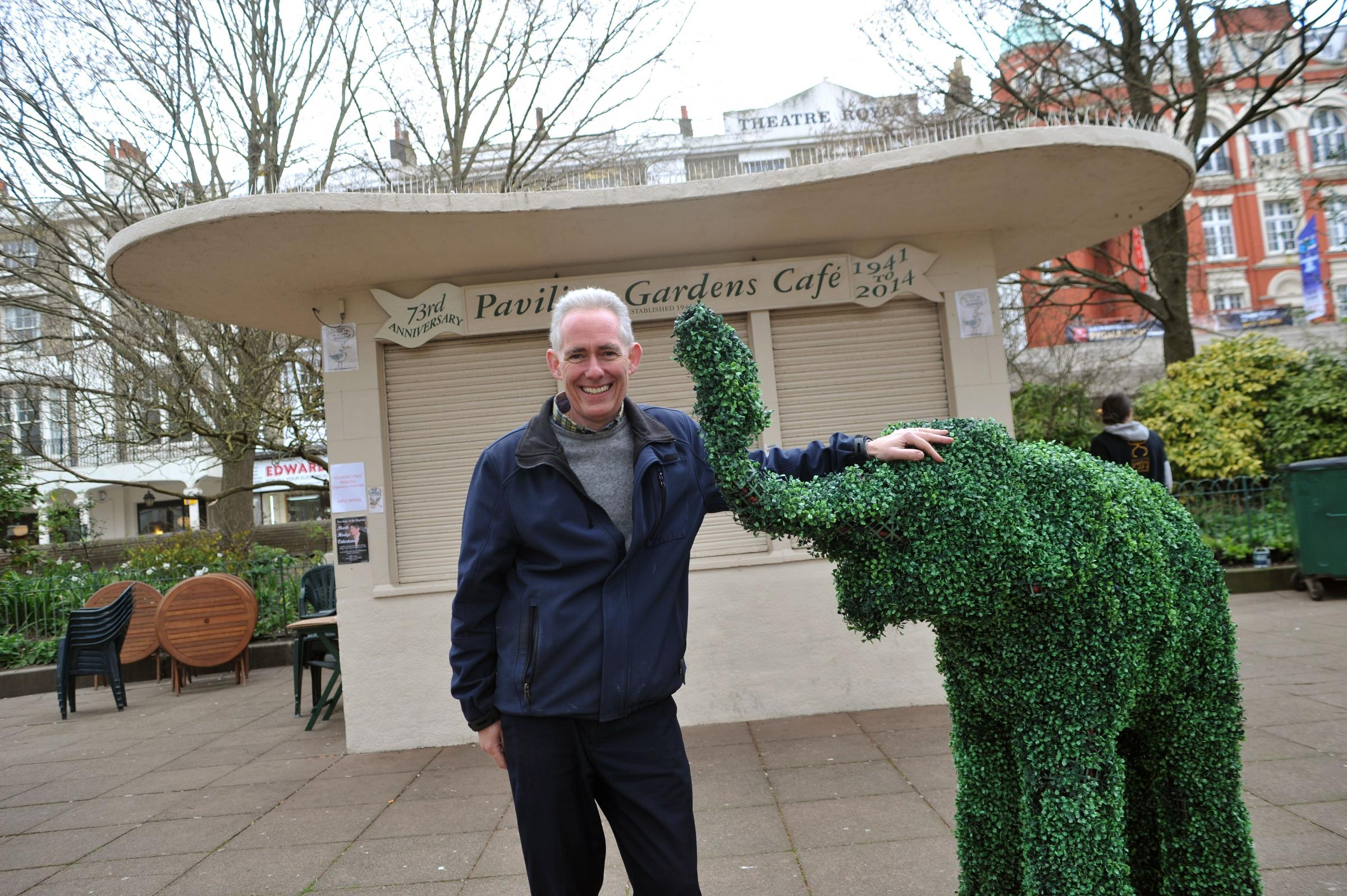 Brighton's Pavilion Gardens Cafe saved from closure