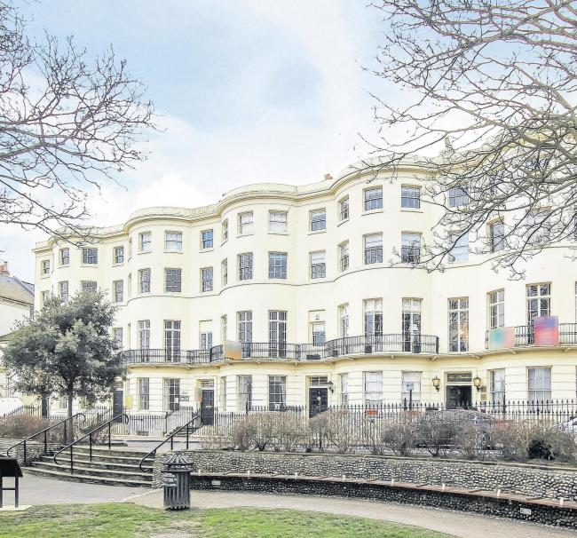 Through the keyhole: Liverpool Terrace, Worthing, £800,000