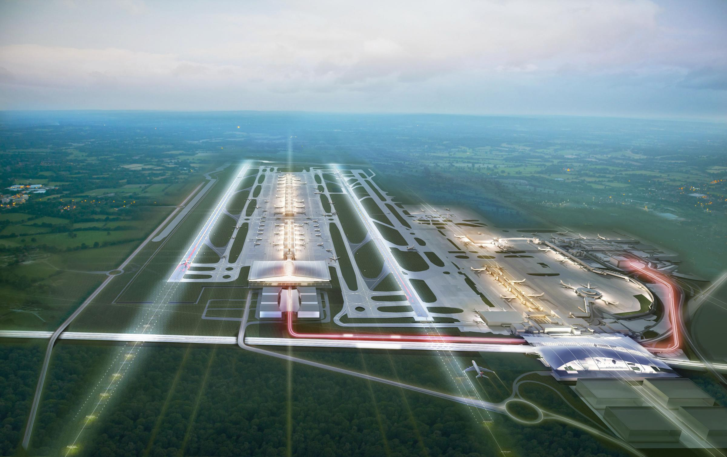 Ancient woodland warning over second Gatwick runway proposal