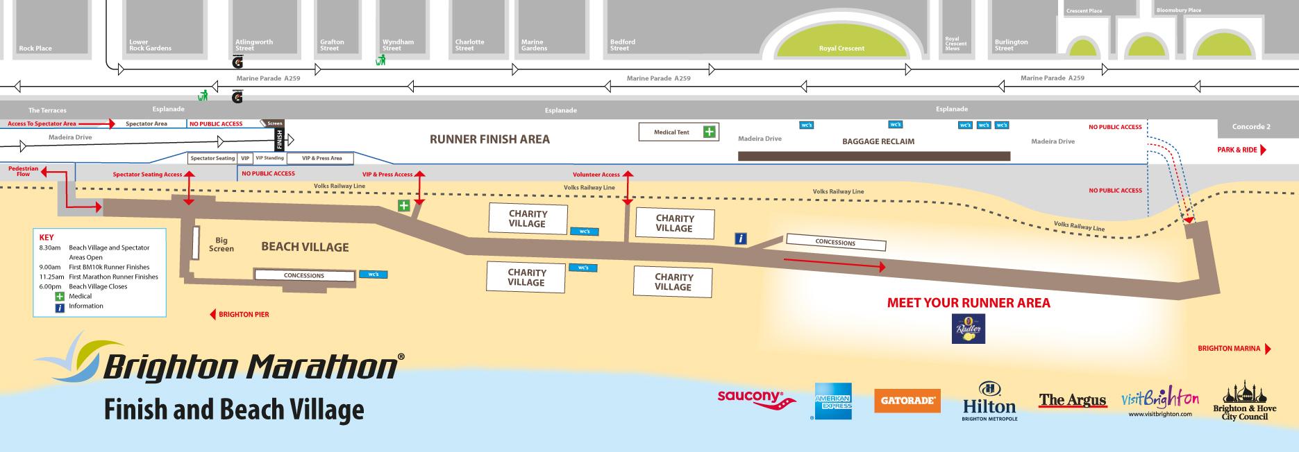 Map Of Uk Beaches.Brighton Beach England Map