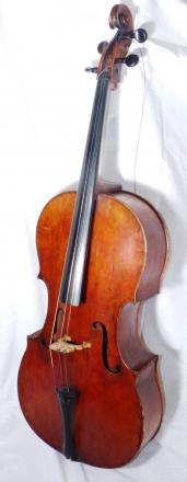 What a cello worth £5,000 looks like - but not one of the stolen items