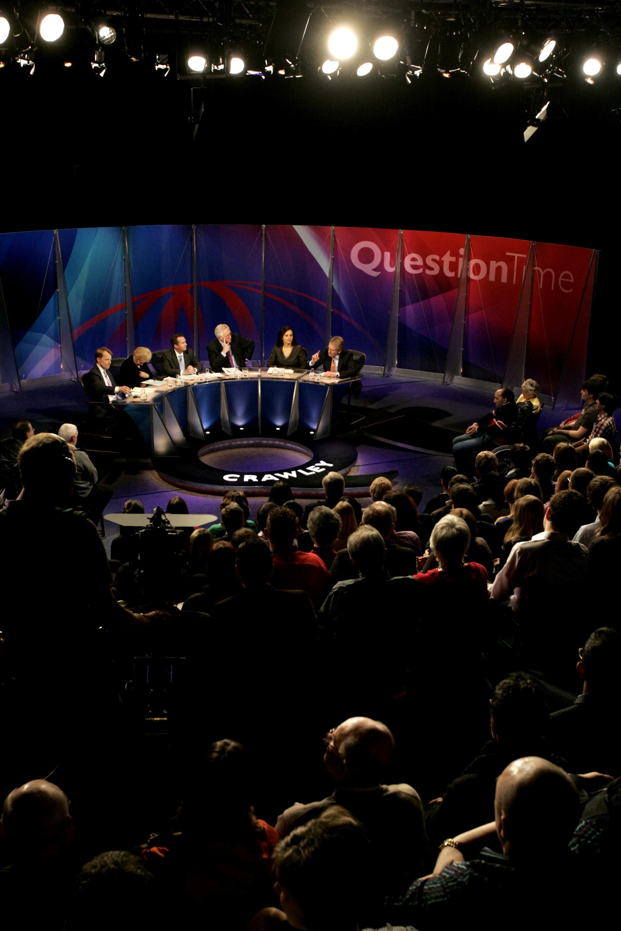 Tonight's Question Time comes from Brighton