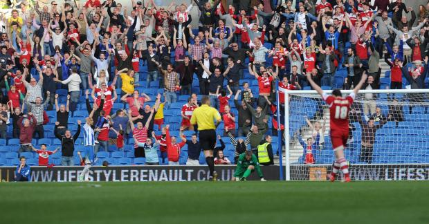 The Argus: Middlesbrough celebrate their second goal