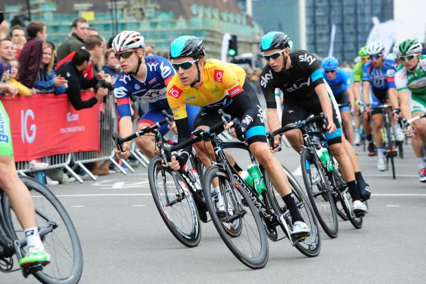 The Argus: Sir Bradley Wiggins in action during last year's Tour of Britain