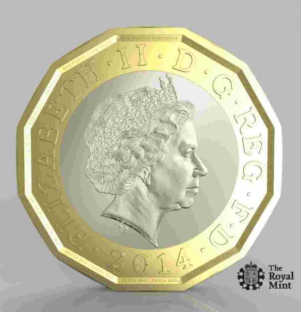 The Argus: New £1 coin could be costly for Sussex