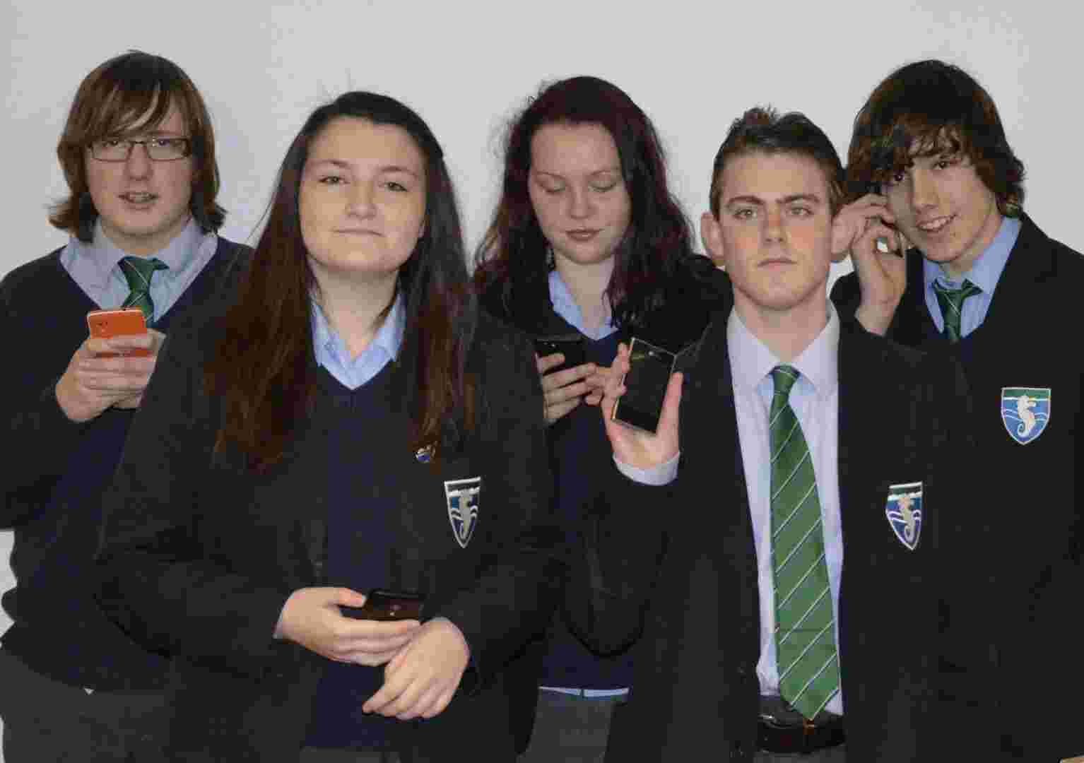 Pupil petition follows ban on phones