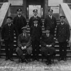 The Argus: London Road Station, Brighton, staff in 1925.  Can you help identify these men?