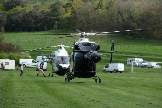 The Argus: Travellers park on emergency air ambulance site
