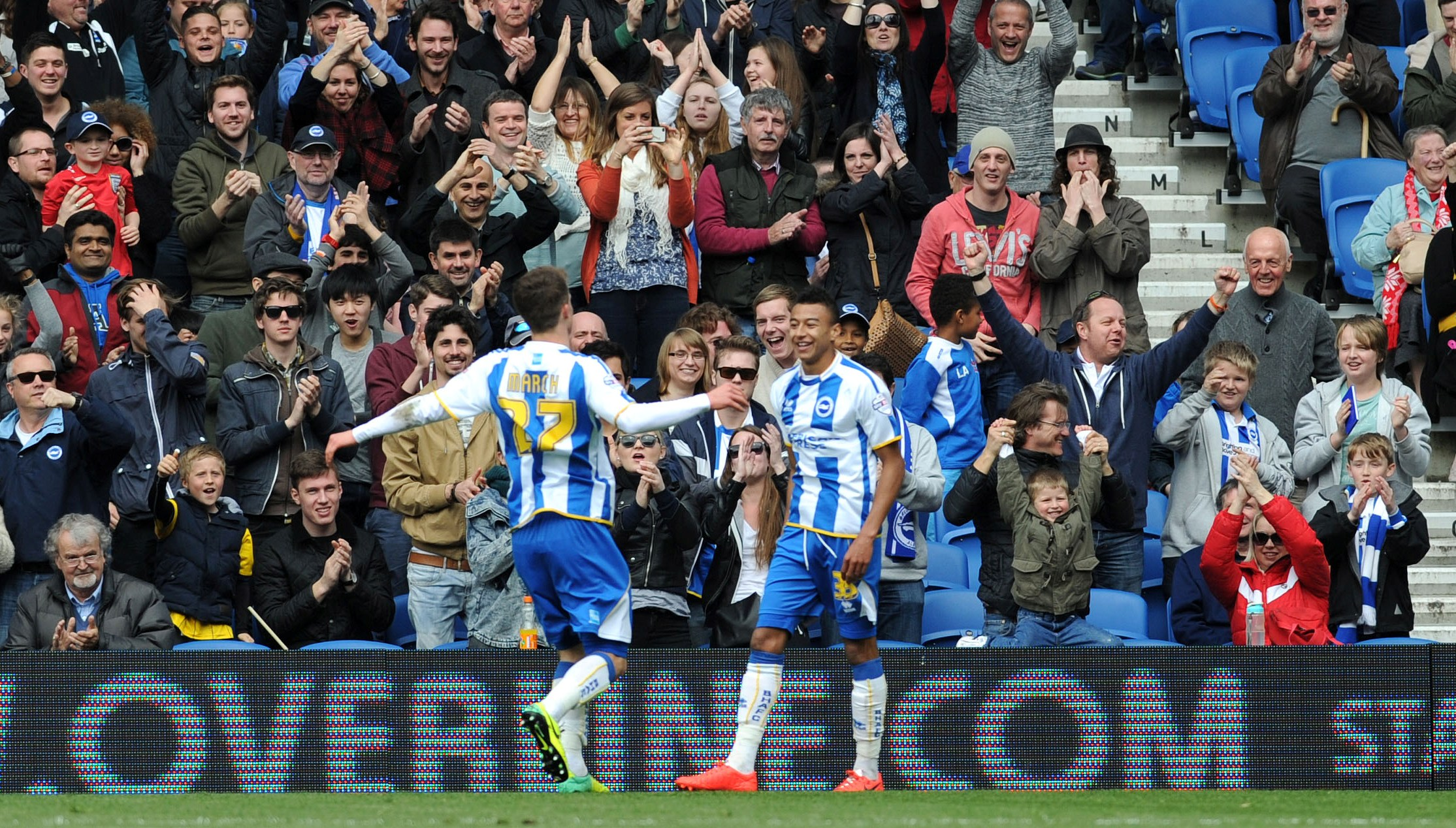 Video: Watch Albion move into the play-off positions with victory over Charlton