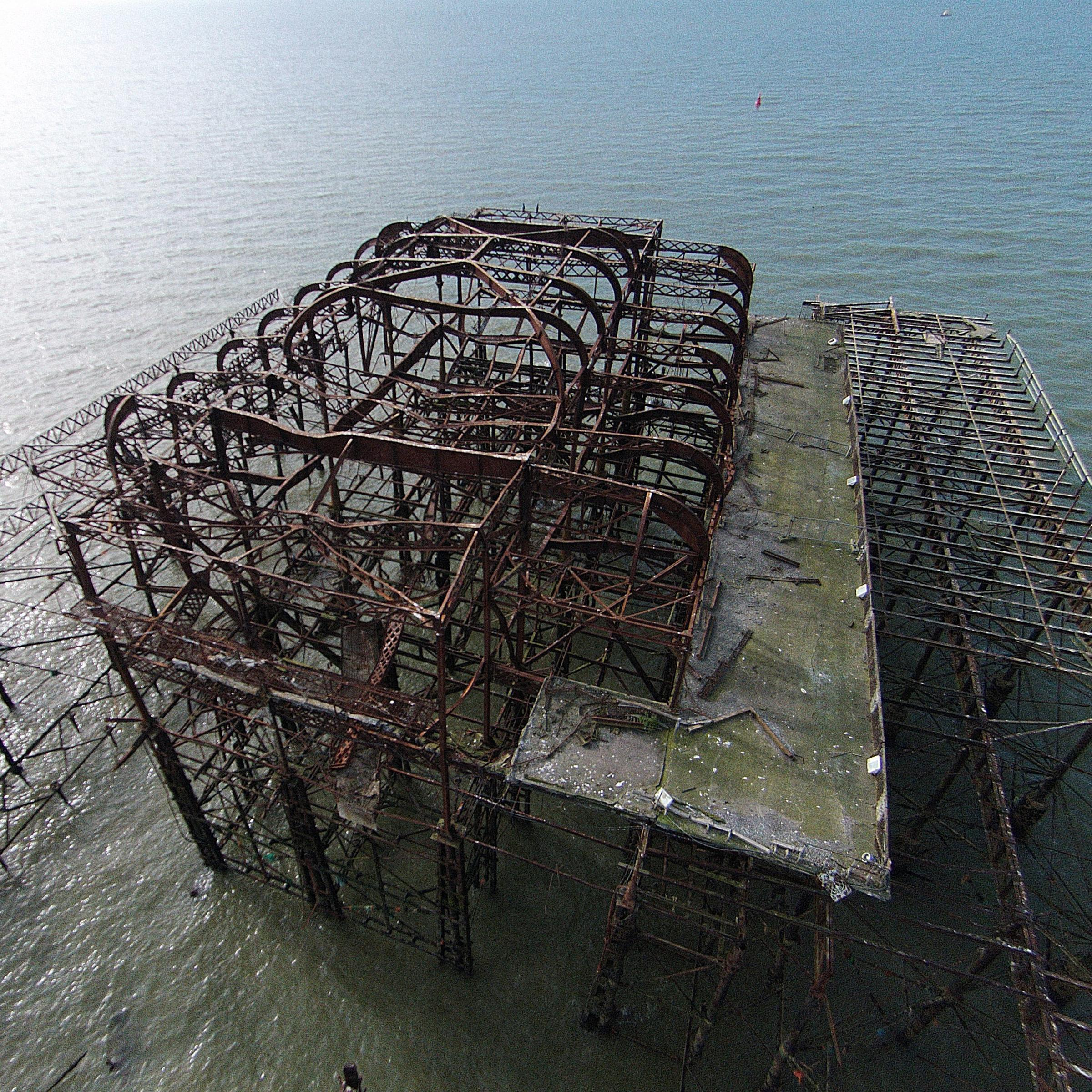 Have your say: Should the West Pier be dismantled? (Pic: Marc Pinter Krainer)