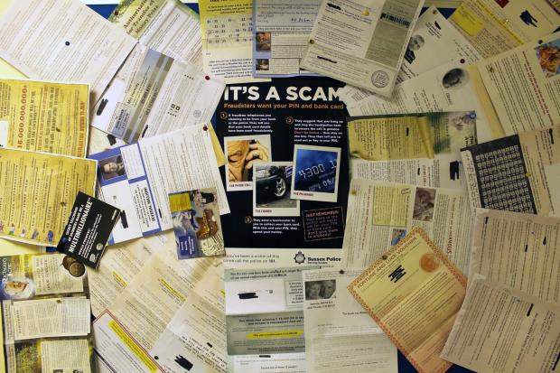 The Argus: Elderly woman received 285 scam letters in six months