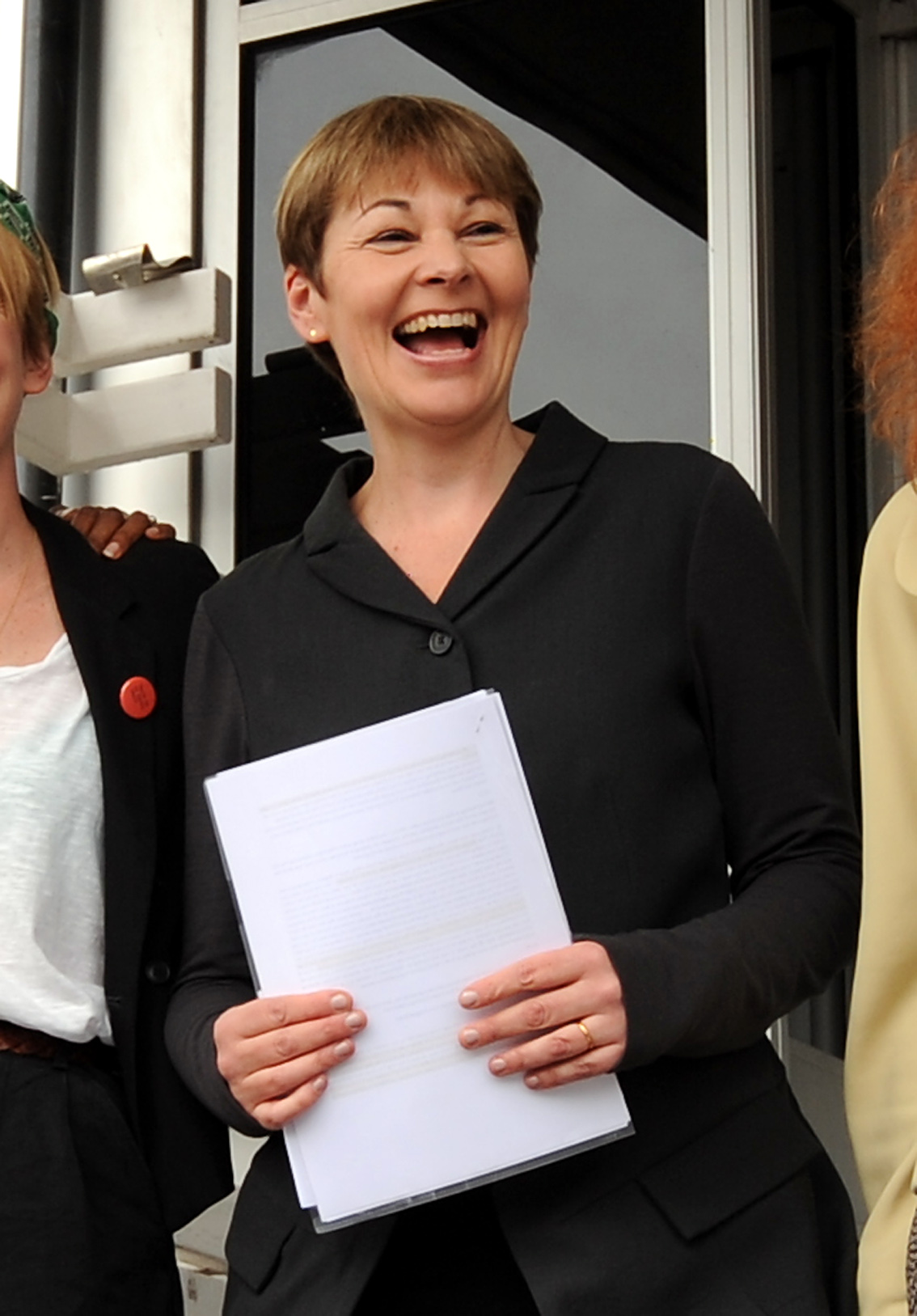 Caroline Lucas found not guilty in anti-fracking protest trial