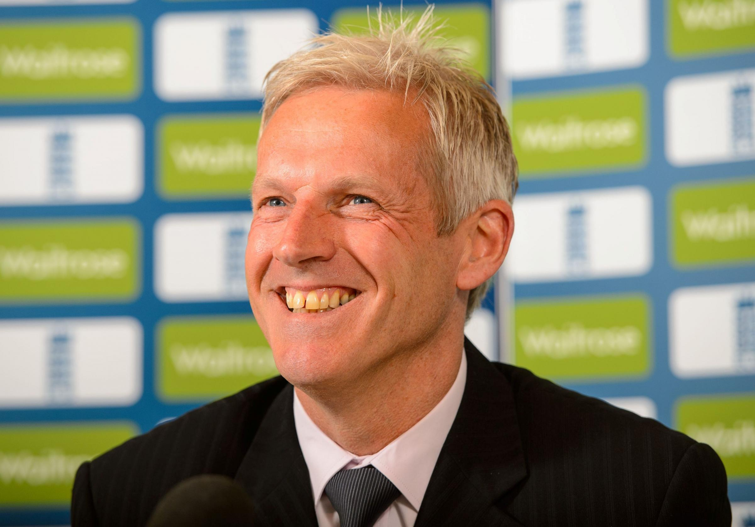 Peter Moores today