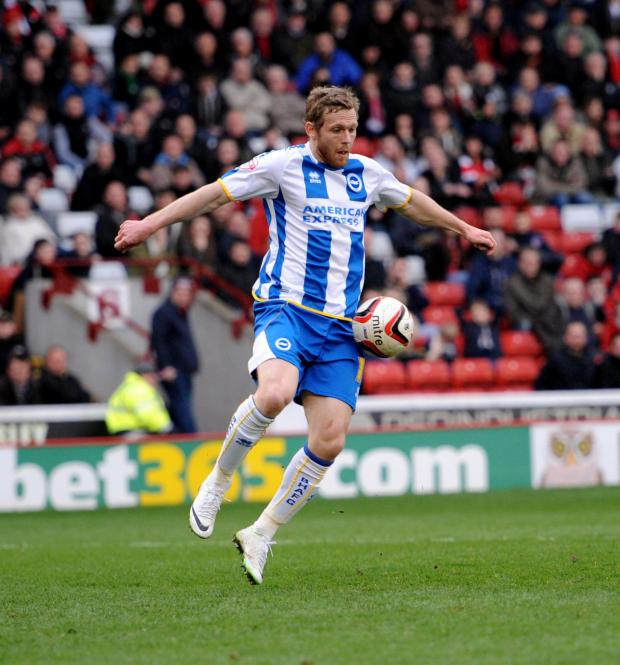 The Argus: Injury-hit Craig Mackail-Smith will be hunting for goals next season
