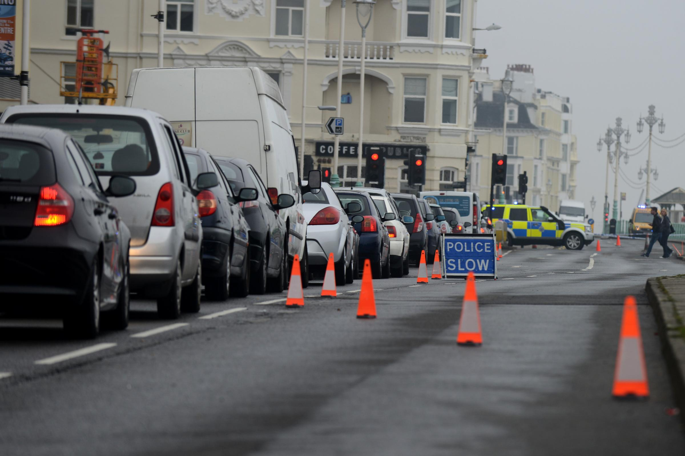 Major seafront route could be closed for weeks following collapse