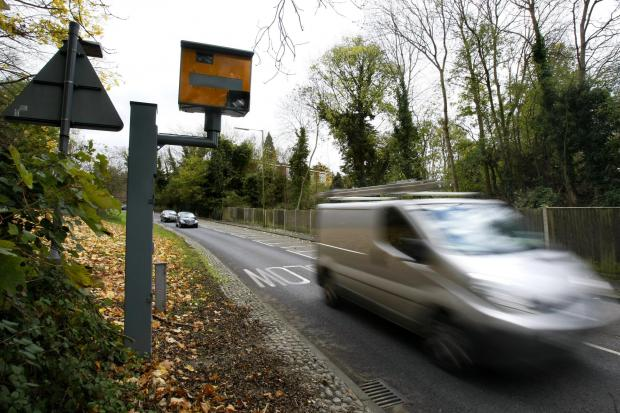 Dangerous drivers clock speeds of 120mph