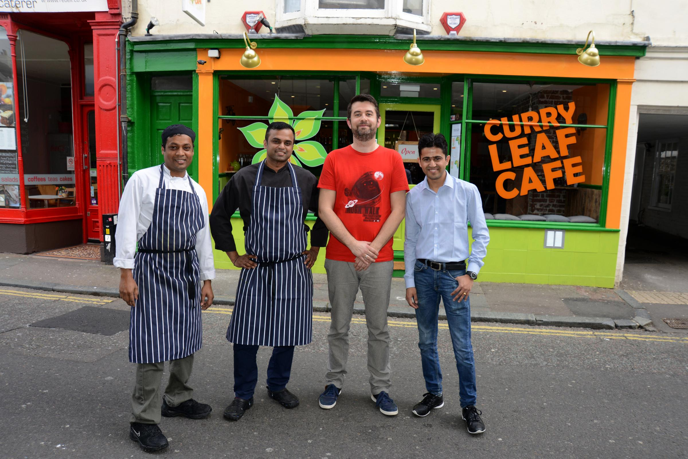 Curry Leaf Cafe Rockets To Top Of The Restaurant Charts