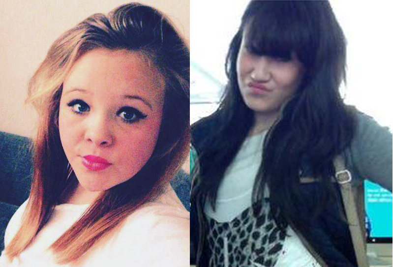 Starlene, 12, and Chloe, 15, were last seen on Sunday