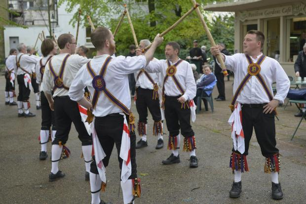 The Argus: Morris Men start early to give May Day some stick