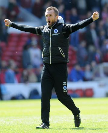 Nathan Jones has been confirmed as assistant manager