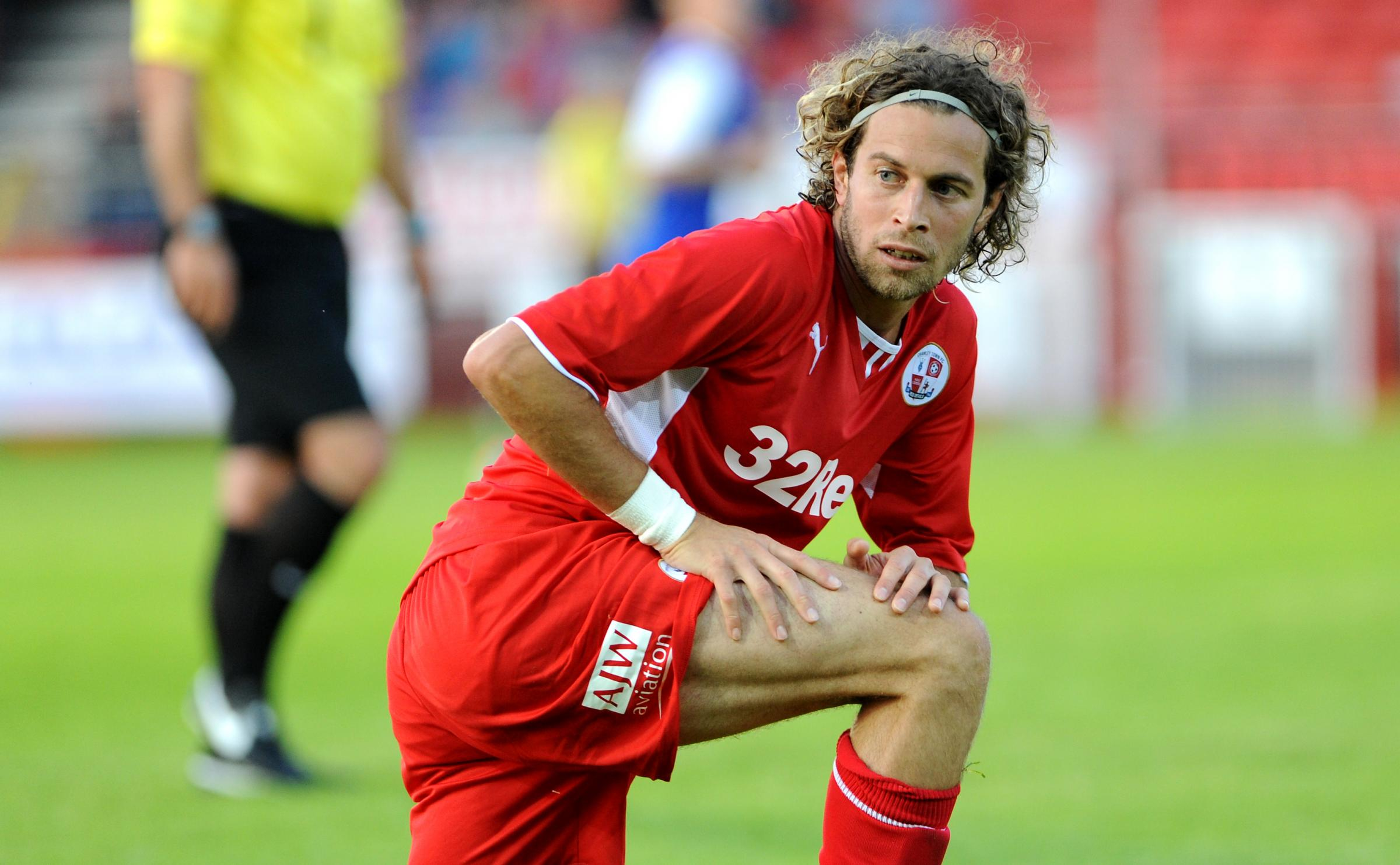 Sergio Torres is one of 11 players released by Crawley