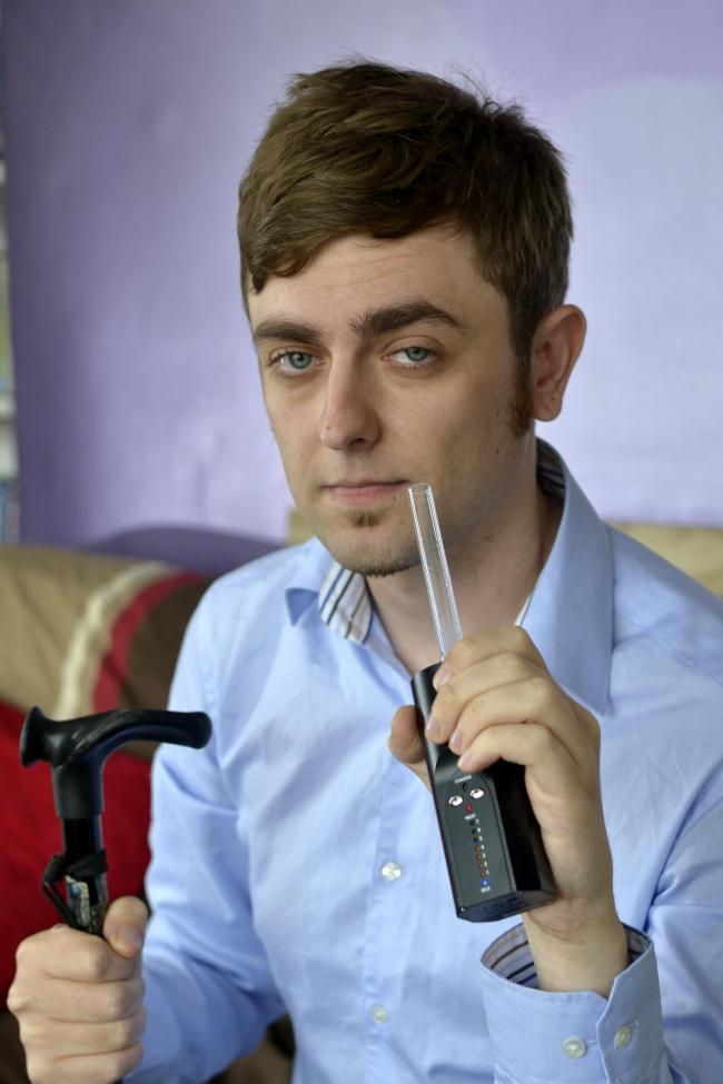MS sufferer reveals marijuana helped him walk again
