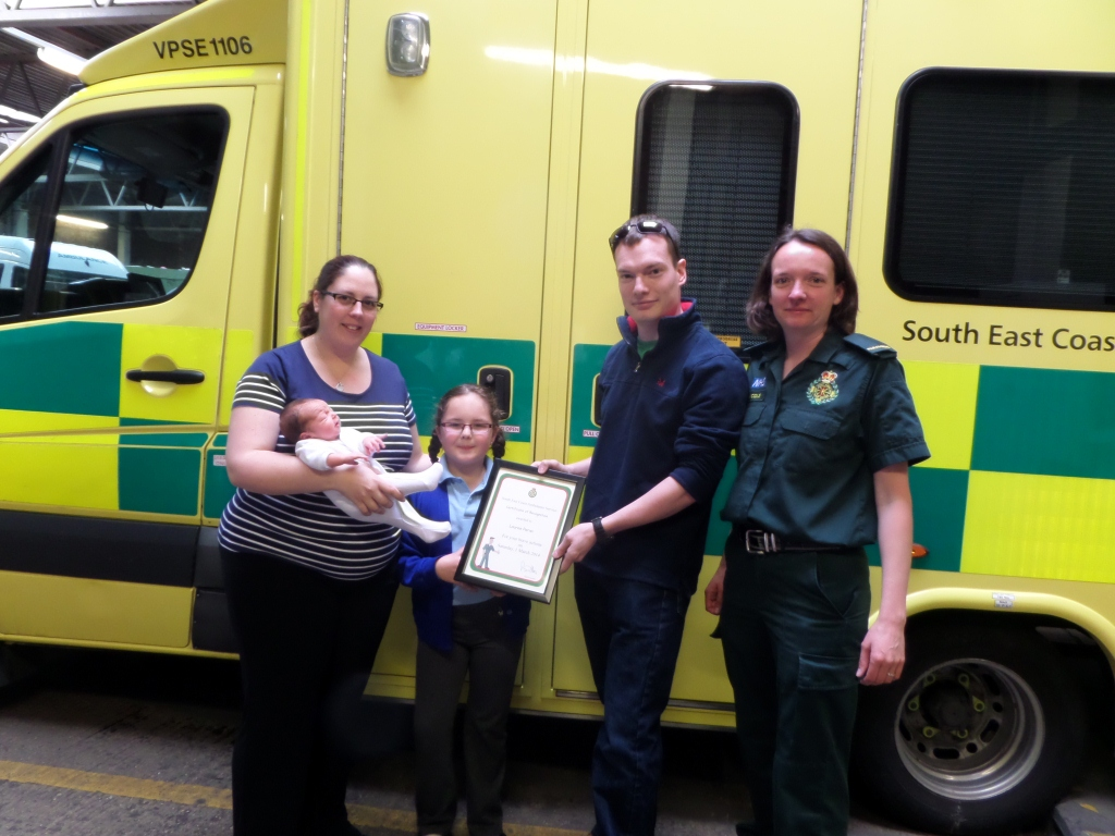 Praise for six-year-old hero who helped her asthmatic and pregnant mother