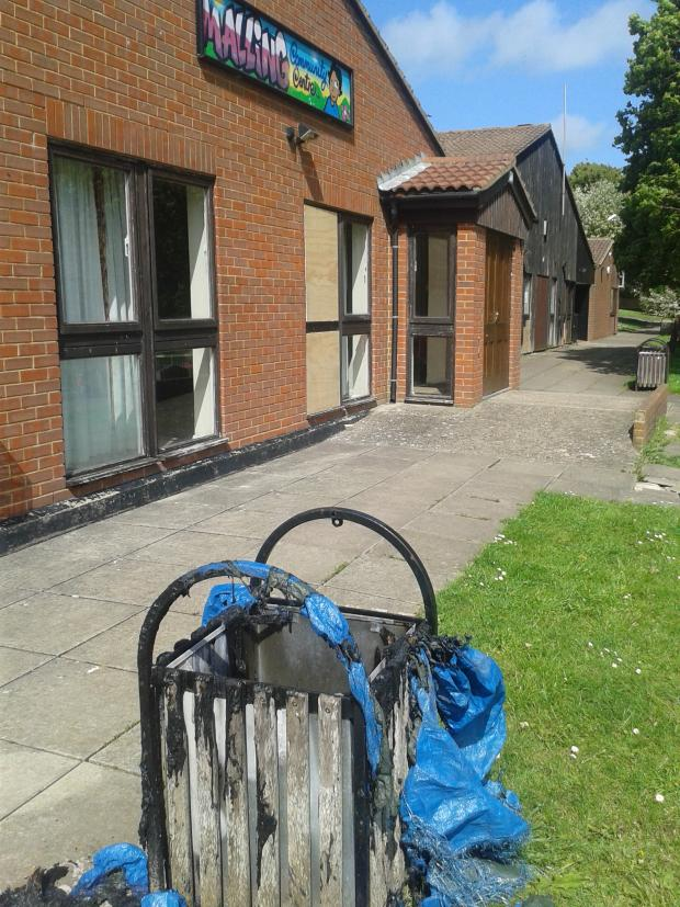 The Argus: Vandals trash community centre located between police HQ and Police and Crime Commissioner's office