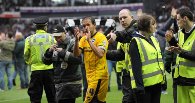 Inigo Calderon would love to extend his stay at Albion