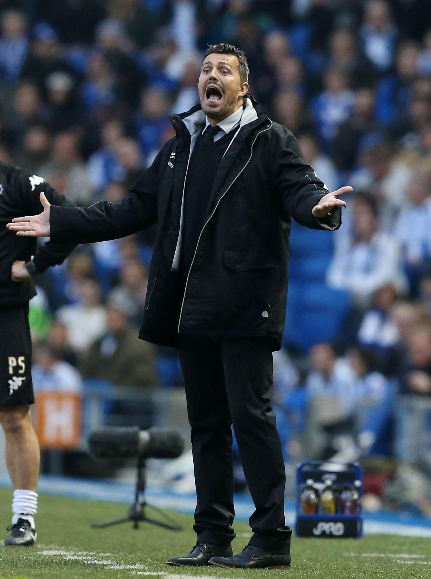 Ex-Albion boss Oscar Garcia takes helm at LaLiga strugglers