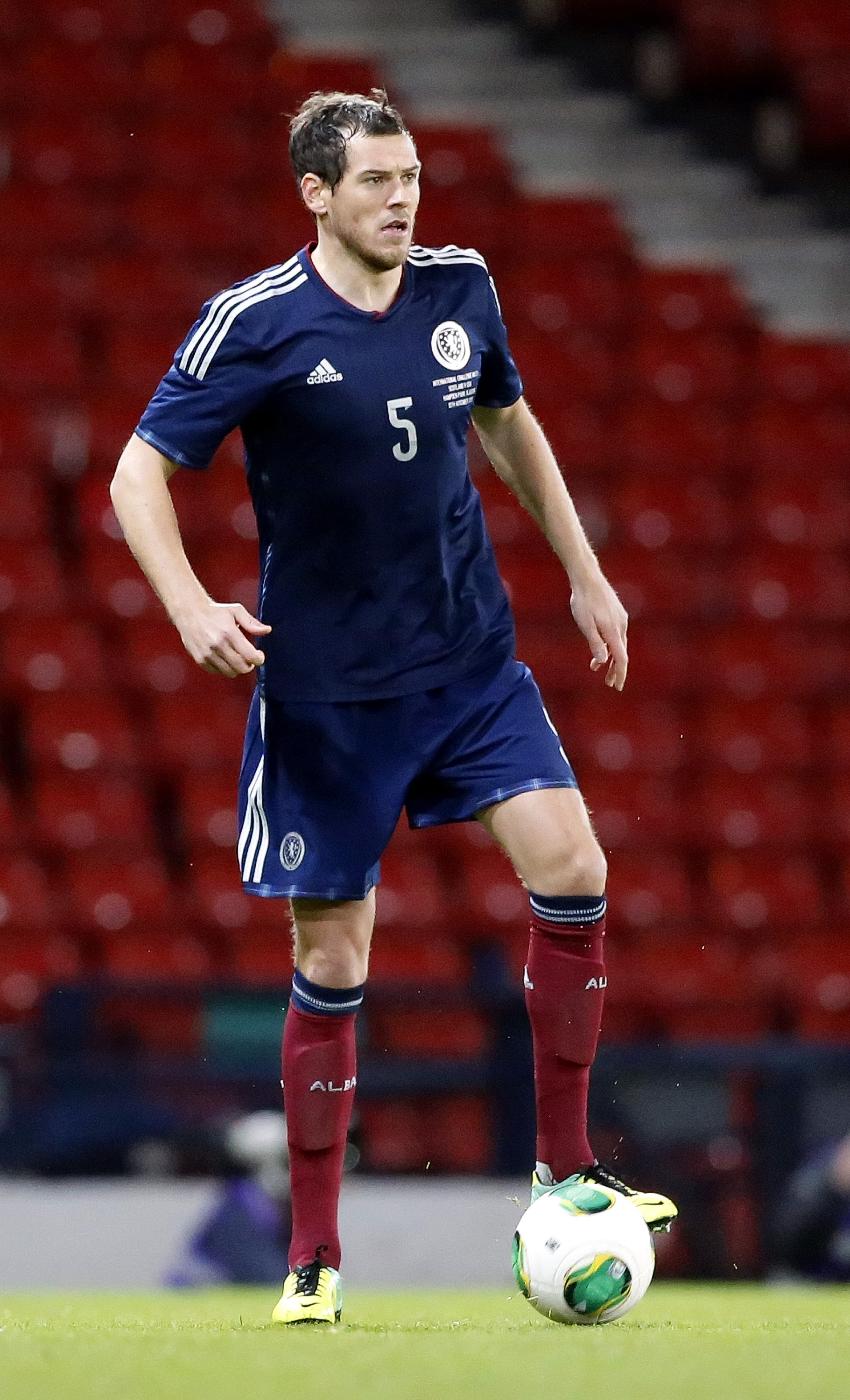 Gordon Greer is in the Scotland squad to face Nigeria