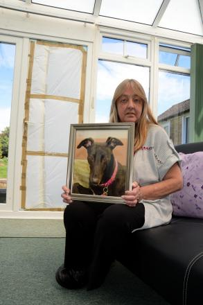 Belinda Jones with a picture of the beloved Tiggy
