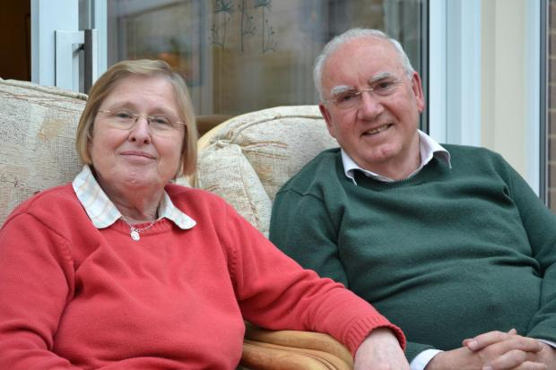 Couple's challenges of living with dementia