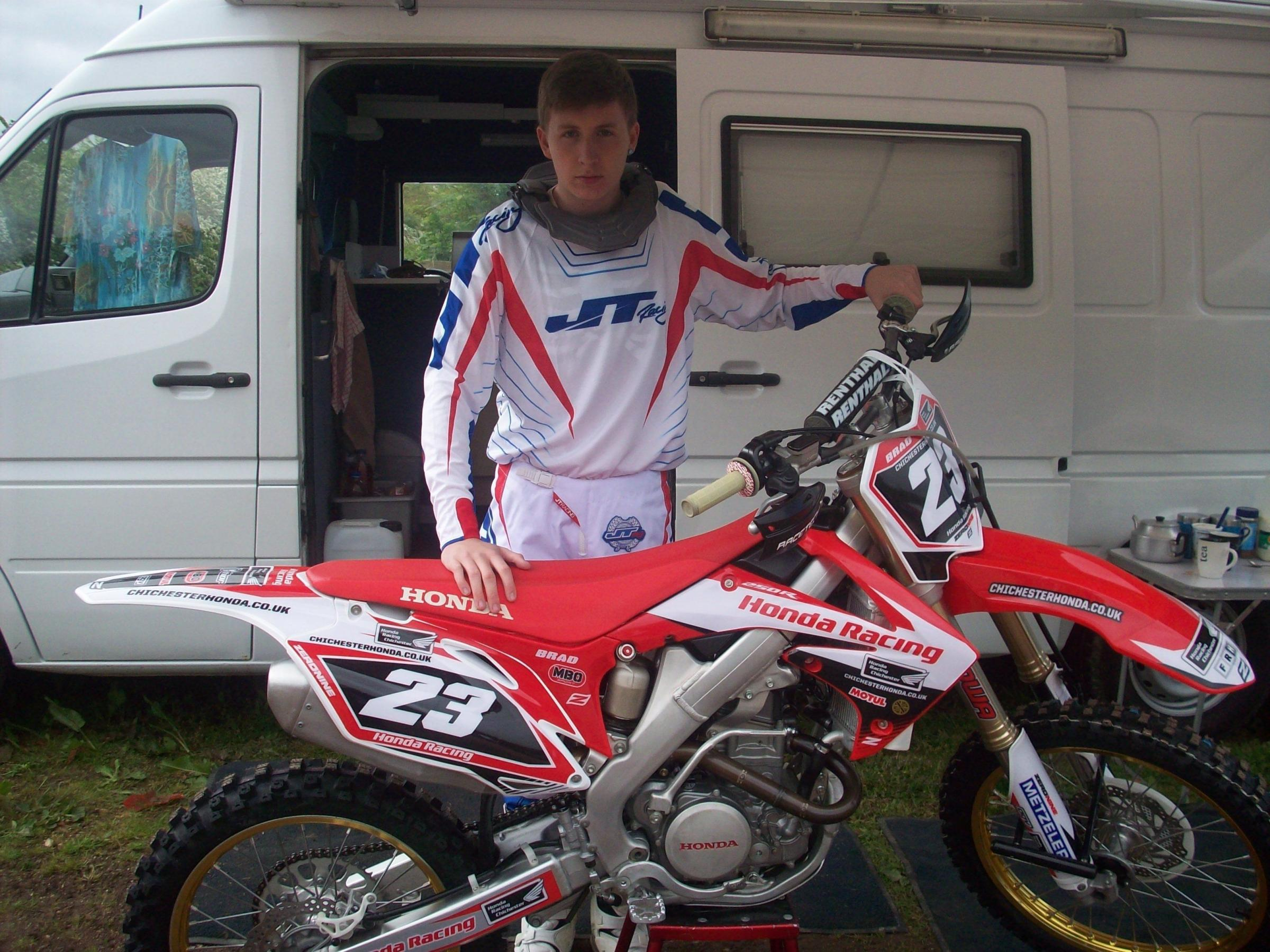 Club pay tribute to young motorcross rider