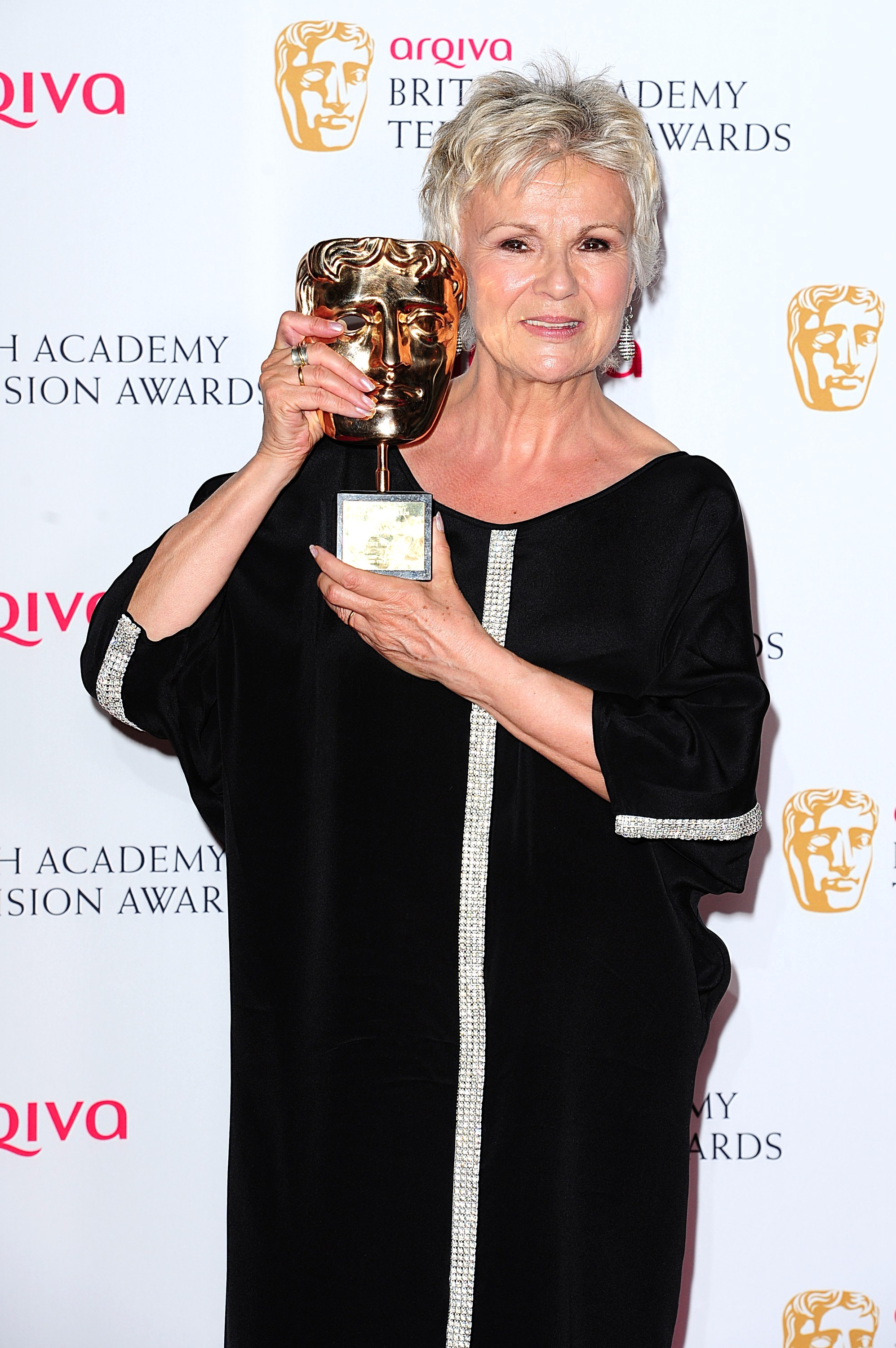 Julie Walters wins at the Bafta awards