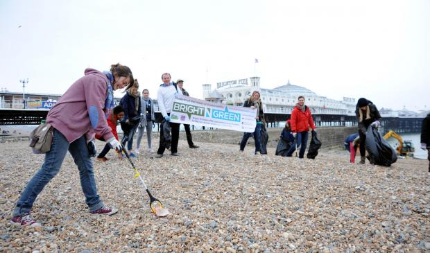 Teams prepare to tackle the Big Beach Clean-up