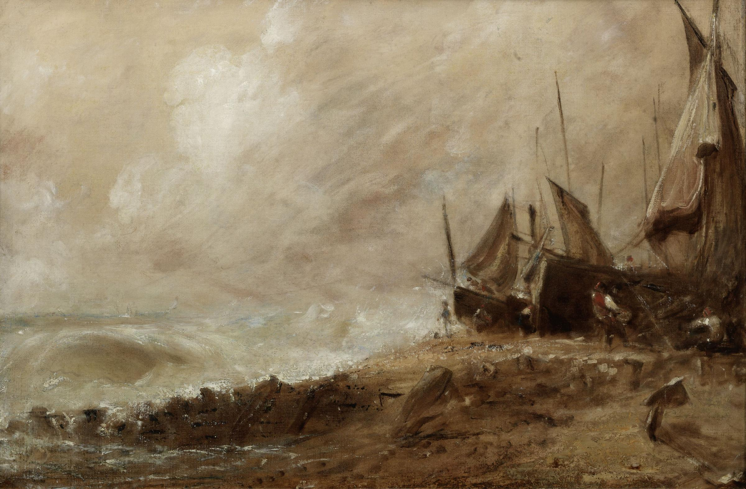 Constable's Brighton painting up for auction