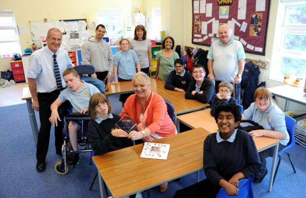 School wins epilepsy support award