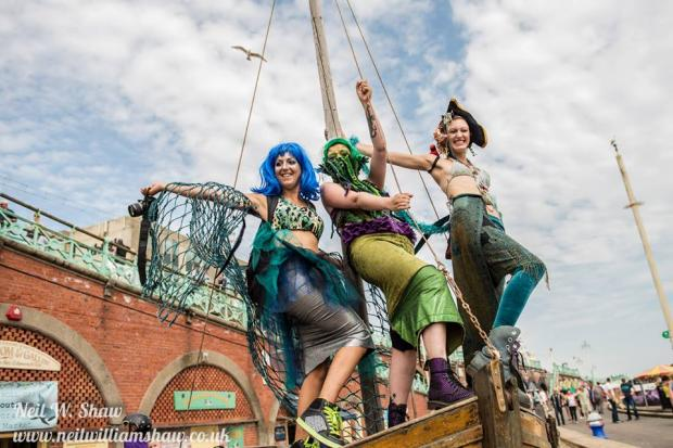 March of Mermaids to raise money for marine conservation