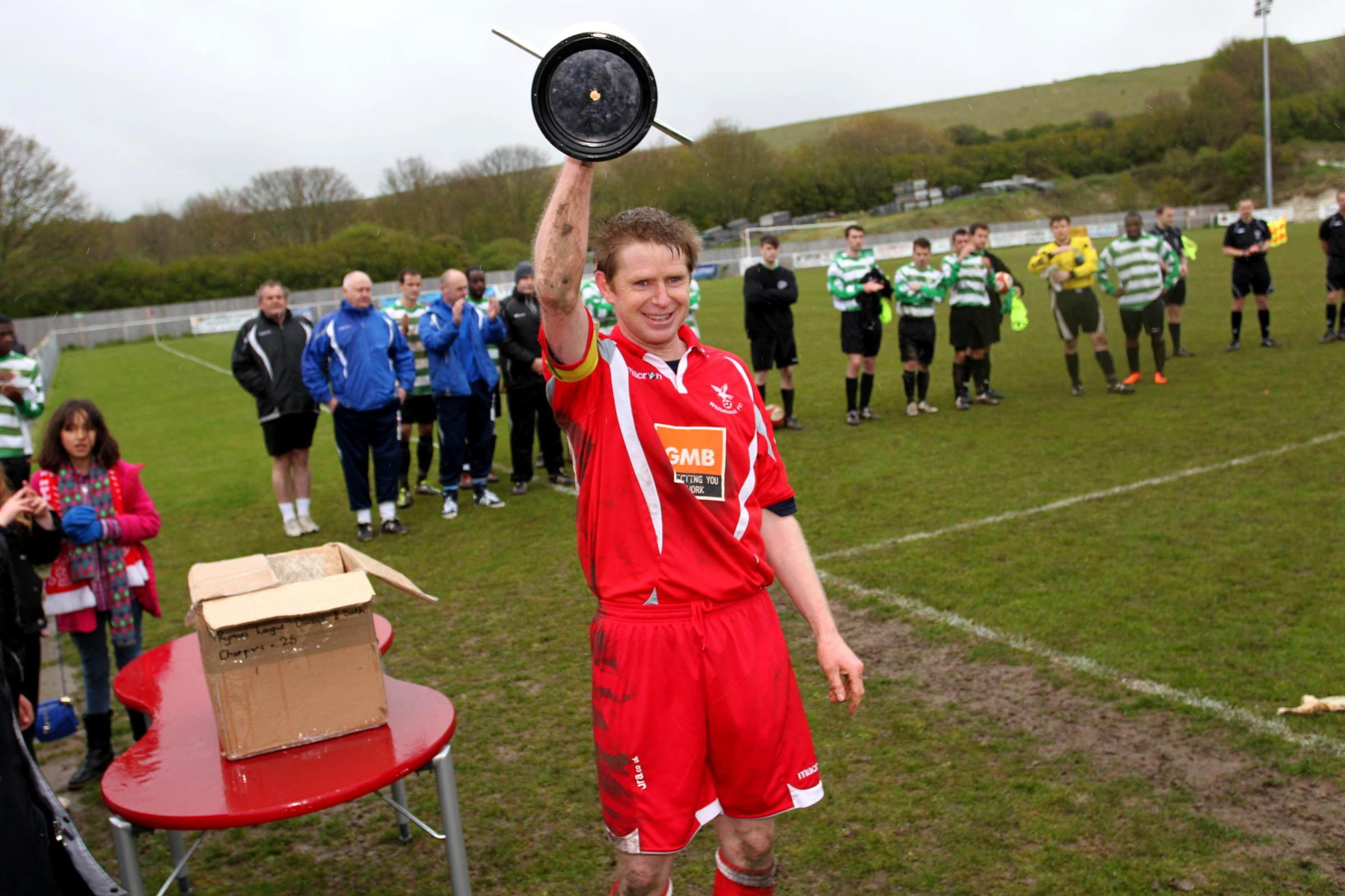 Paul Armstrong pictured during his time with Whitehawk