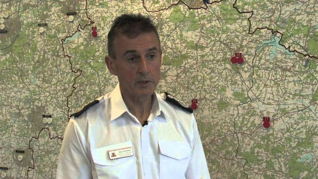 Chief Fire Officer Des Prichard
