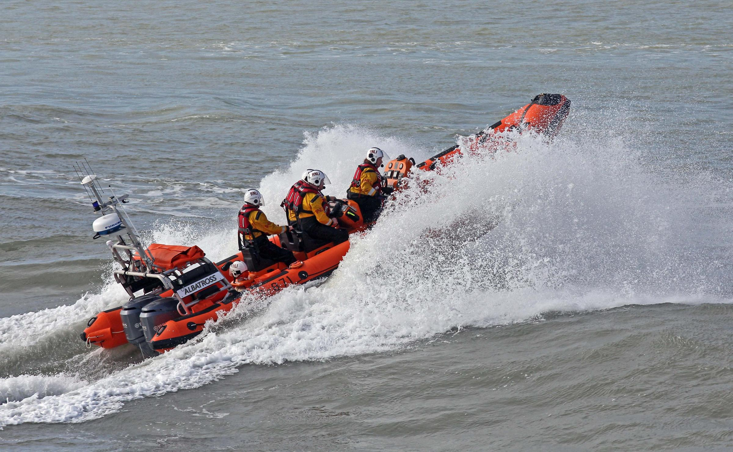 Windsurfer rescued in Pevensey Bay