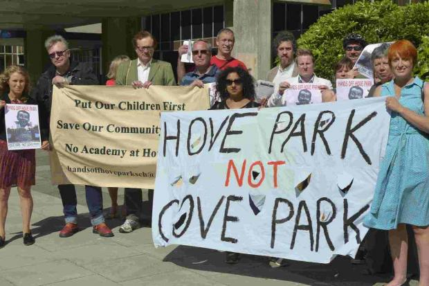 Councillors to hold ballot on Hove Park proposal
