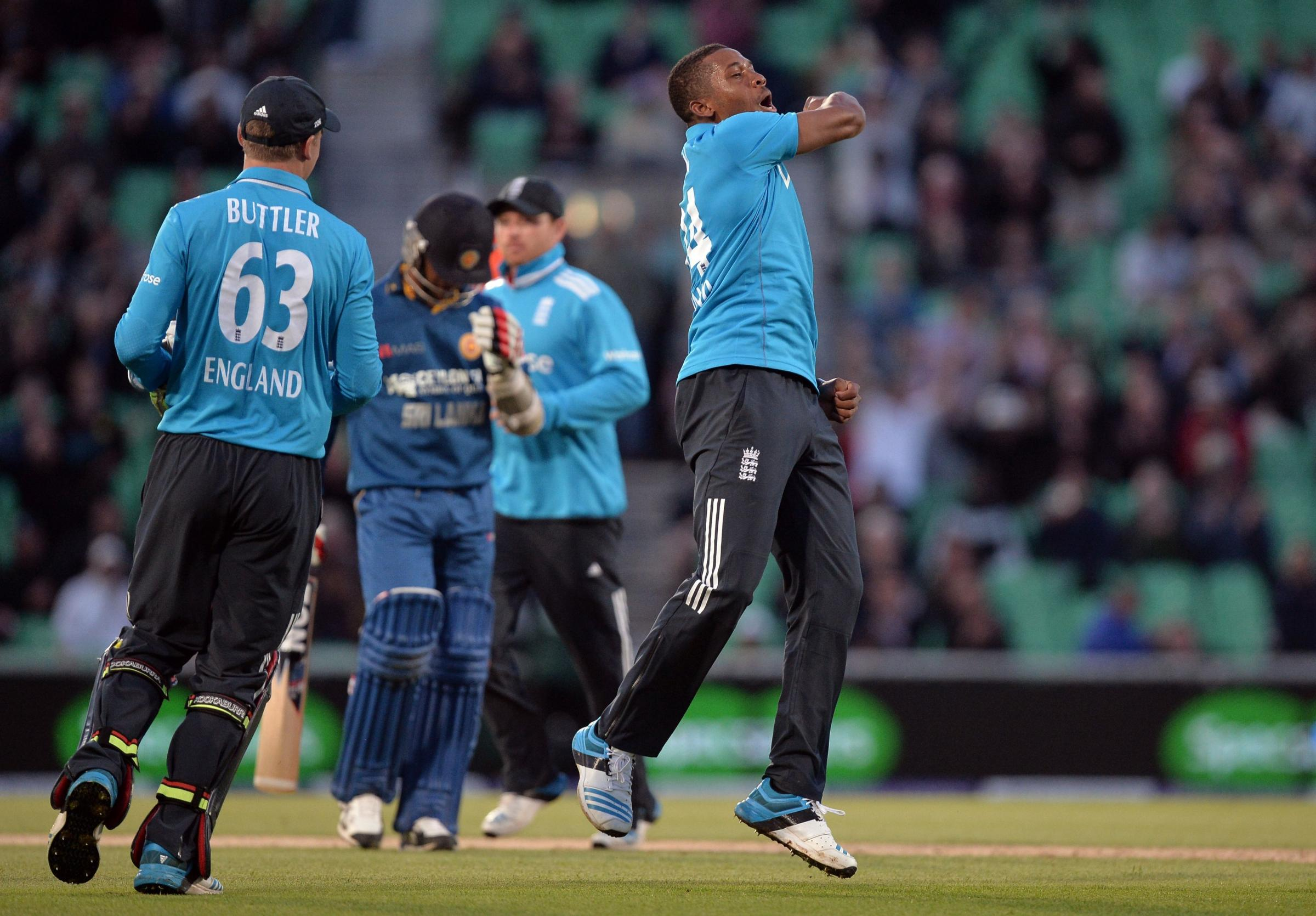 Chris Jordan plays for England today against Sri Lanka