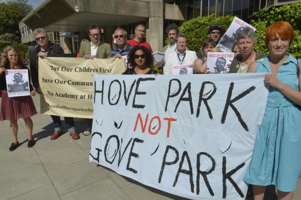 Three anti-academy parent governors elected at Hove Park School
