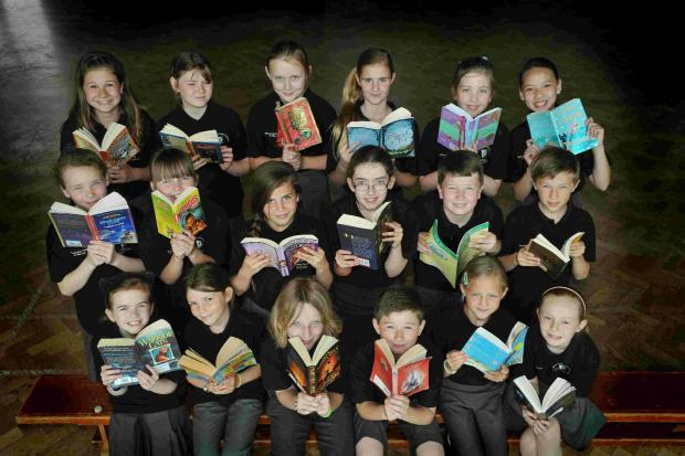 Youngsters up for national reading award