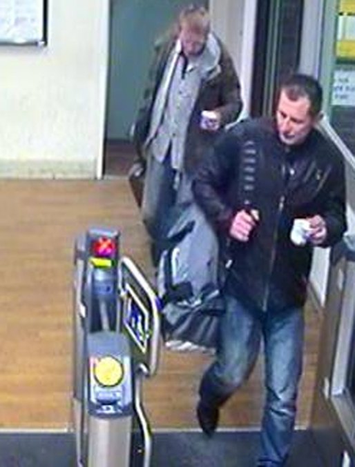 Transport police appeal over stolen £10,000 suitcase