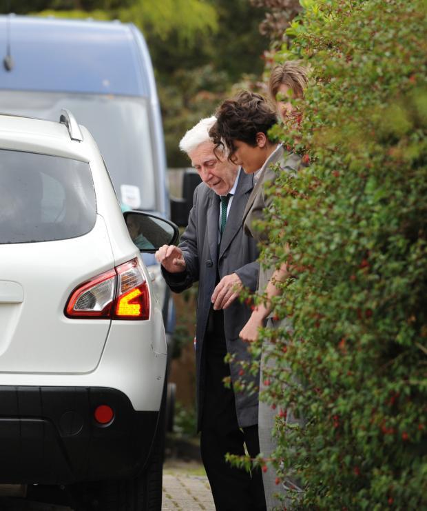 Great escape war veteran Bernard arrives home