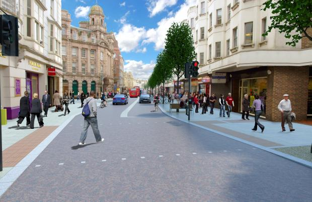 Major shopping street set for revamp