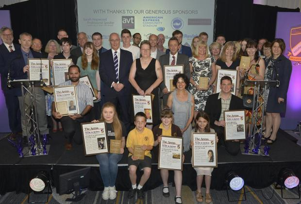 High achievers honoured in Youth in Action Education Awards